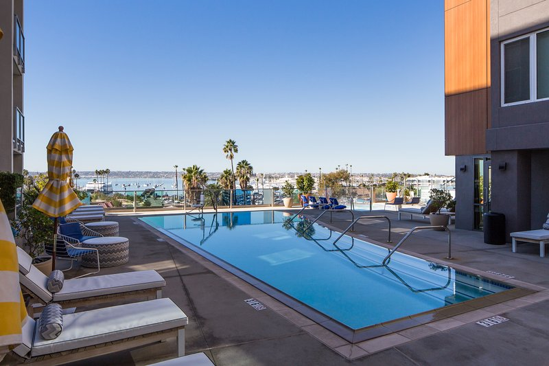 Stay Alfred San Diego Vacation Rentals Pool - Amazing Kettner Boulevard Apartment by Stay Alfred - San Diego - rentals