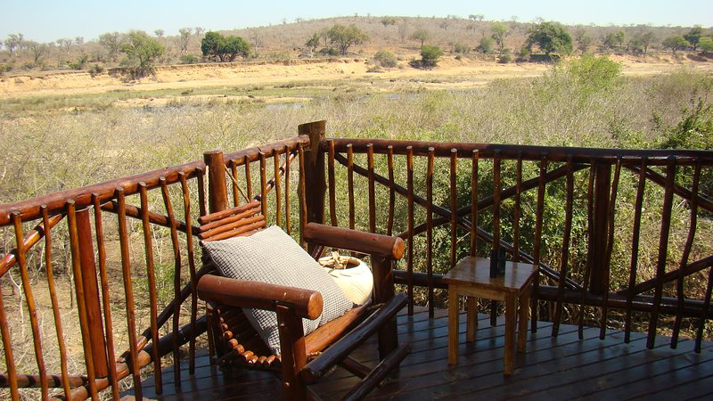 Relax on oour deck and watch the animals of Kruger Park come down to the river. - Majuli River Lodge in Marloth Park overlooking Kruger Park - Marloth Park - rentals