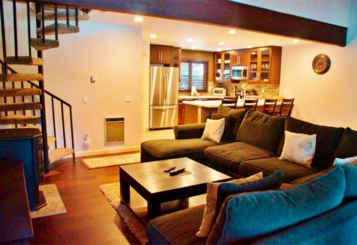 Spacious Newly and Completely Remodeled Three Story Condo in Mammoth Pines - Listing #245 - Image 1 - Mammoth Lakes - rentals