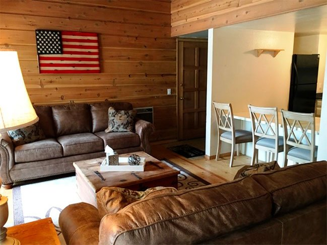 Rustic Inspired 1 Bedroom with Loft 2 Bath Retreat - Listing #285 - Image 1 - Mammoth Lakes - rentals