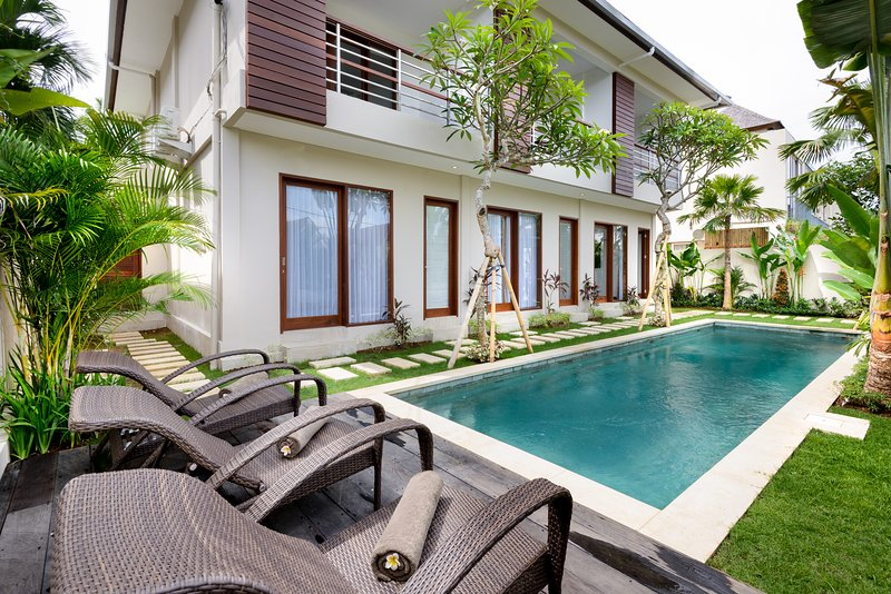 Elegant and modern building with 3 units only - ECHOBEACH2BR APARTMENTS 105sqm, right in famous Echo Beach - Canggu - rentals