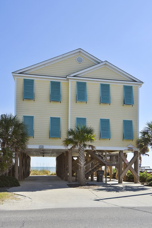 Oceanfront, Private Pool. 20% OFF Dec-April Stays! - Image 1 - Murrells Inlet - rentals
