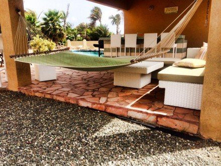 Villa Bella Mare, Steps to the beach in Malmok - Image 1 - Malmok Beach - rentals