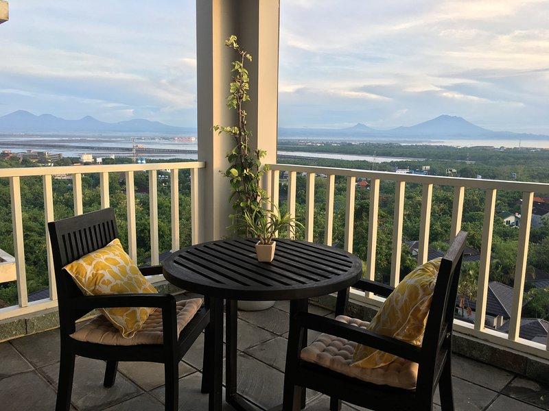 Living Room Balcony  - Ocean Bay View Apartment - Nusa Dua - rentals