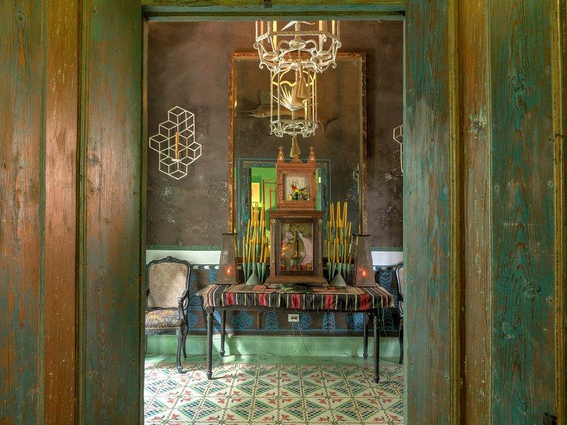 Hall - El Portico de la Candelaria  NYTimes recommended - Merida - rentals