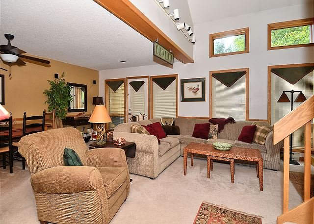 "Living Room - ""The Bear House""- Cozy 2 Bedroom Condominium Located in Canaan Valley, WV - Davis - rentals"