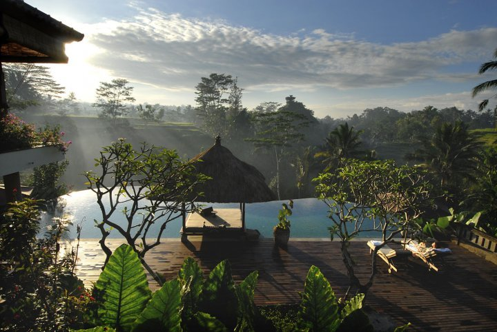 Relaxing four bedroom villa in Ubud Bali - Image 1 - Ubud - rentals