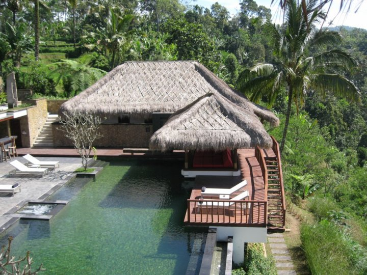 Awan Biru Villa Five Bedroom Villa - Image 1 - Ubud - rentals