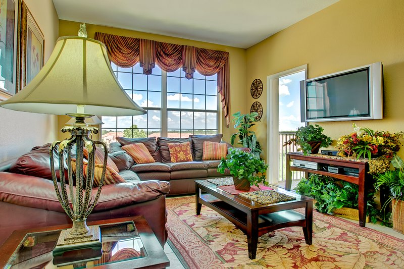 Condo Living Room - Birmingham at Windsor Hills - Kissimmee - rentals