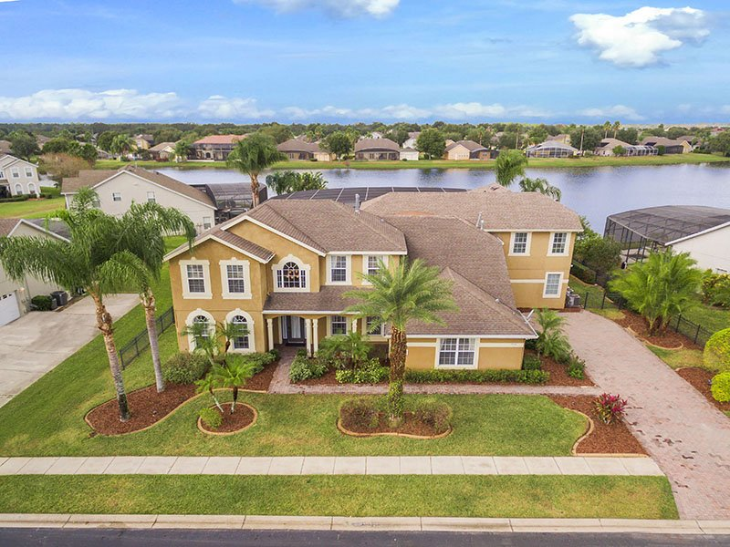FG_800 Lake View Home in Formosa Gardens - Image 1 - Kissimmee - rentals