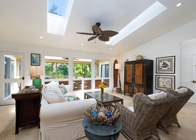 Private, Luxury Home Near Tunnels Beach!  Ideally located in Haena. - Image 1 - Hanalei - rentals