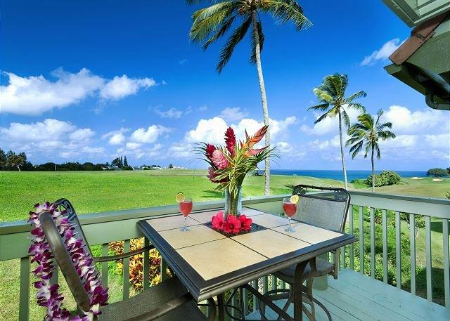 Spectacular Ocean and Golf Course views, 3 bedroom condo - Image 1 - Princeville - rentals