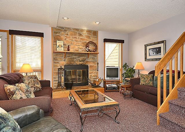 Living Room - Airy and bright 3 bedroom condo located in Canaan Valley, WV! - Davis - rentals