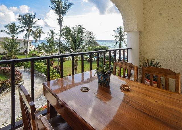 Nice! Oceanfront with pool 1 bedroom in Xaman Ha (Xh7110) - Image 1 - Playa del Carmen - rentals