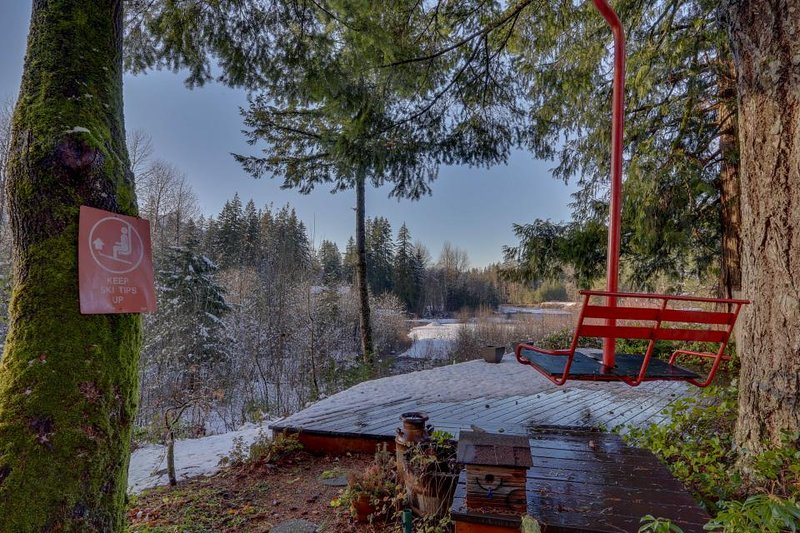 Cozy & warm condo with a shared deck, firepit & river views! - Image 1 - Rhododendron - rentals