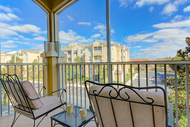 Condo Patio - Cleveland at Windsor Hills - Kissimmee - rentals