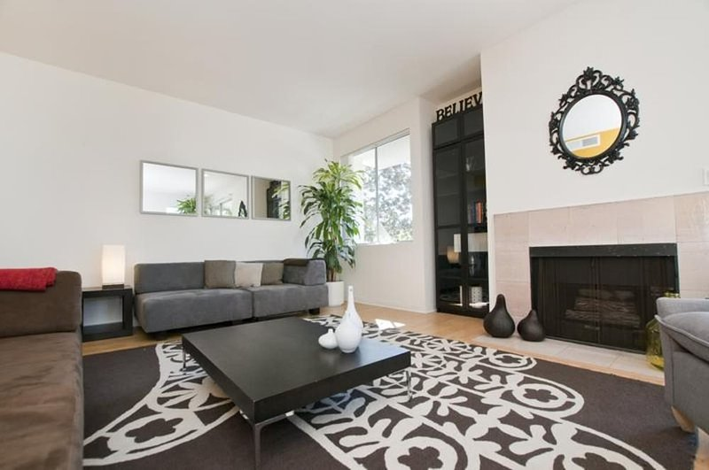 Furnished 2-Bedroom Apartment at W Olympic Blvd & S Clark Dr Beverly Hills - Image 1 - Beverly Hills - rentals