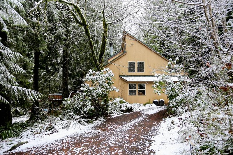 Unique dog-friendly mountain home w/private hot tub & sauna!Only 6 min. to town! - Image 1 - Welches - rentals