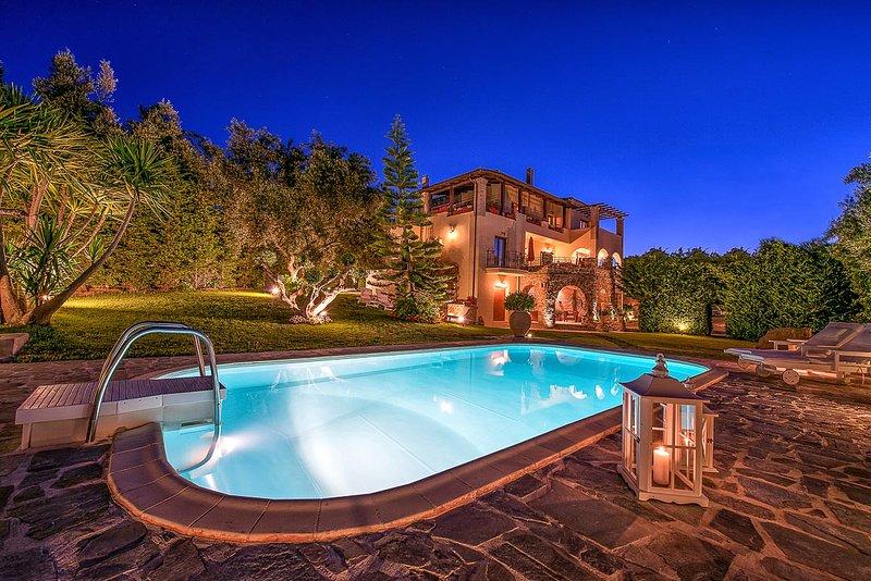 Bozonos Luxury Villa, Sleeps 6 - Image 1 - Mouzaki - rentals