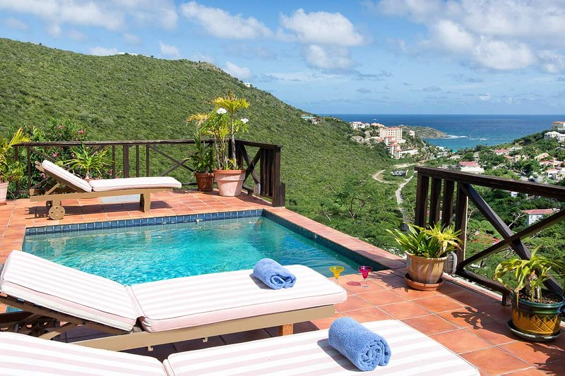 MOONDANCE... affordable hillside villa with expansive views - Image 1 - Oyster Pond - rentals