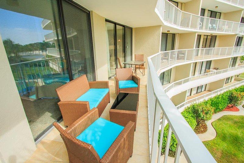 Balcony - SST4-307 - South Seas Tower - Marco Island - rentals