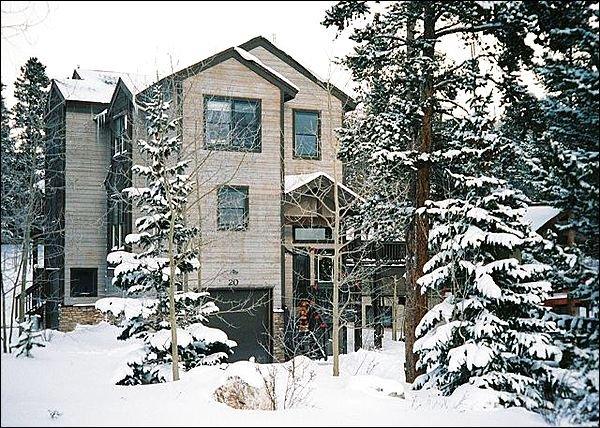 Beautiful Home Exterior - Rustic Mountain Charm - In-Floor Radiant Heat (13395) - Breckenridge - rentals