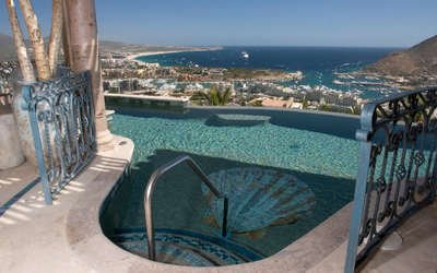 Fabulous 5 Bedroom Villa with View of Downtown Cabo San Lucas - Image 1 - Cabo San Lucas - rentals