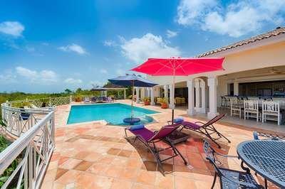 Beautiful 4 Bedroom Hillside Villa in Terres Basses - Image 1 - Terres Basses - rentals
