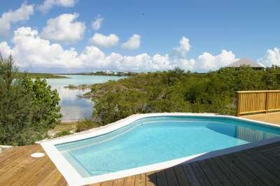 Delightful 2 Bedroom Waterfront House with Pool on Chalk Sound - Image 1 - Providenciales - rentals