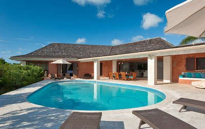 Secluded 4 Bedroom Beachfront Villa with Pool on Chalk Sound - Image 1 - Providenciales - rentals