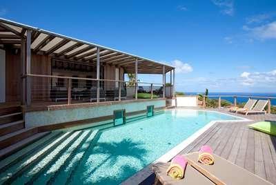Elegant 4 Bedroom Villa with Private Pool in Vitet - Image 1 - Saint Barthelemy - rentals