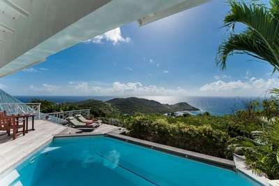 Private 2 Bedroom with Ocean View in Vitet - Image 1 - Saint Barthelemy - rentals