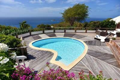 Beautiful 3 Bedroom Villa with Ocean View in Colombier - Image 1 - Anse des Flamands - rentals
