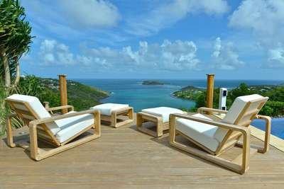 Sensational 3 Bedroom Villa Overlooking the Ocean in Marigot - Image 1 - Marigot - rentals