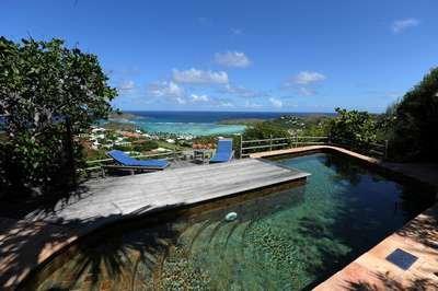 2 Bedroom Villa Overlooking the Grand Cul de Sac Lagoon in Marigot - Image 1 - Marigot - rentals