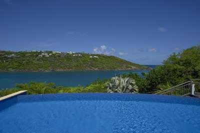 Contemporary 4 Bedroom Villa with Private Dock in Marigot - Image 1 - Marigot - rentals