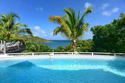 Modern 3 Bedroom Villa with Ocean View in Marigot - Image 1 - Marigot - rentals