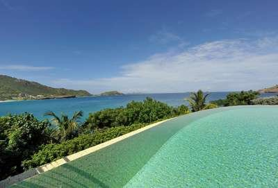 2 Bedroom Villa with View of Flamands Beach - Image 1 - Saint Barthelemy - rentals