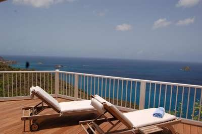 Exceptional 2 Bedroom Villa with Panoramic Ocean View in Colombier - Image 1 - Anse des Flamands - rentals