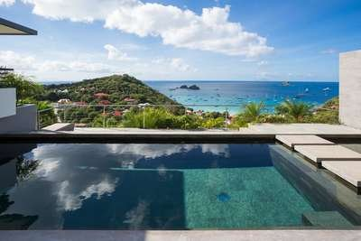 Marvelous 3 Bedroom Villa on the hillside of Colombier - Image 1 - Anse des Flamands - rentals