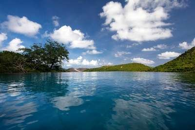 5 Bedroom Contemporary Villa on the Hillside of Flamands - Image 1 - Saint Barthelemy - rentals