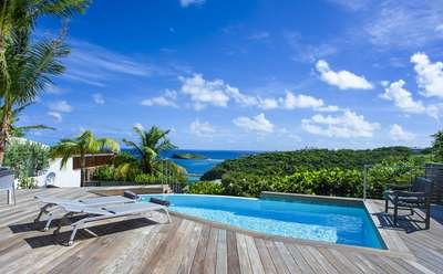 1 Bedroom Villa with Ocean View in Pointe Milou - Image 1 - Pointe Milou - rentals