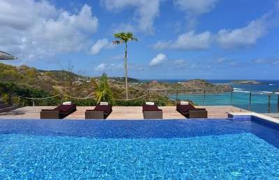 Magnificent 3 Bedroom Villa with Ocean View in Petit Cul de Sac - Image 1 - Petit Cul de Sac - rentals