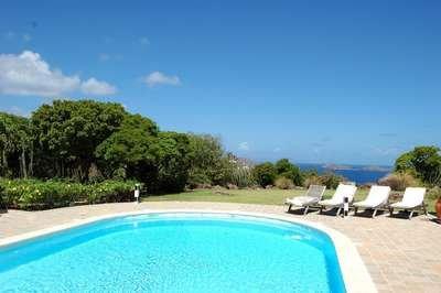 Private 3 Bedroom Hilltop Villa in Montjean - Image 1 - Marigot - rentals