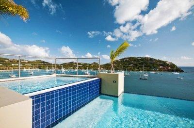 Fabulous 6 Bedroom Villa with View of Great Cruz Bay - Image 1 - Cruz Bay - rentals