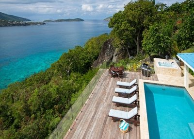 Fantastic 4 Bedroom Villa overlooking Magans Bay on St. Thomas - Image 1 - North Side - rentals