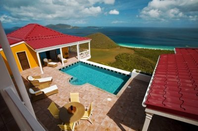 3 Bedroom Villa with Panoramic View in Tortola - Image 1 - Tortola - rentals
