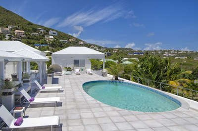 7 Bedroom Villa with Pool near Guana Bay Beach - Image 1 - Dawn Beach - rentals