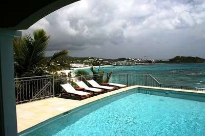 Gorgeous 4 Bedroom Villa with Private Pool in Dawn Beach - Image 1 - Philipsburg - rentals