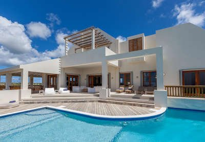 Incredible 6 Bedroom Villa with View in Long Path - Image 1 - Anguilla - rentals